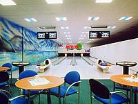 Merlin Club, Lipová alej 1, Hodonín – 4 dráhy UV, šňůrové stavěče Vollmer, scoring Qubica, rok výstavby 2000