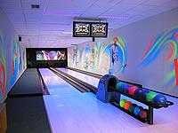 Bowling Buly aréna, Kostelní 360/28, Kravaře – 2 dráhy UV, šňůrové stavěče Vollmer, scoring KBC04 - DOS, rok výstavby 2002