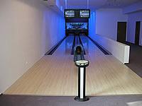 Bowling – Staročeský pivovárek, Křovická 267, Dobruška – 2 dráhy UV,šňůrové stavěče Vollmer, scoring Qubica Stand Alone, rok výstavby 2004